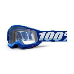 Lunettes 100% Accuri II OTG bleu - Lentille transparent