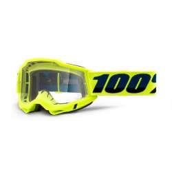 Lunettes 100% Accuri II OTG jaune - Lentille transparent