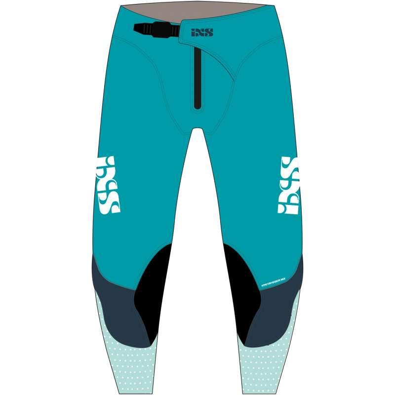 IXS MX Pantalon Trigger bleu-bleu