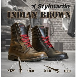 Stylmartin Bottes Indian Brown Vintage