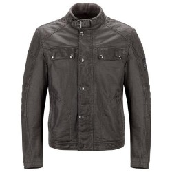 Belstaff Glen Vine Rubberized Fleece Veste